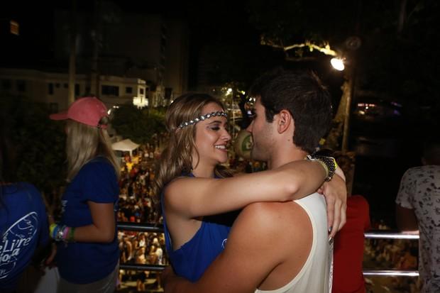Juliana Paiva e Juliano Lahan (Foto: Dilson Silva / Ag. News)