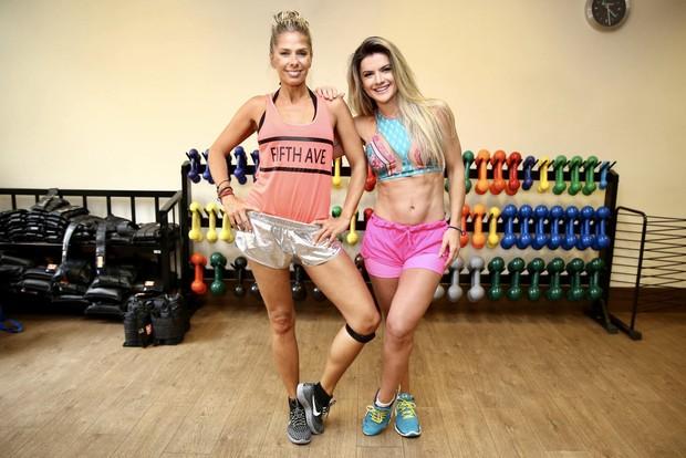 Adriane Galisteu e Mirella Santos (Foto: Manuela Scarpa/Brazil News)