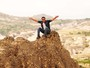 Rodrigo Lombardi grava cenas de Salve Jorge na Turquia (Foto: TV Globo / João Miguel Júnior)