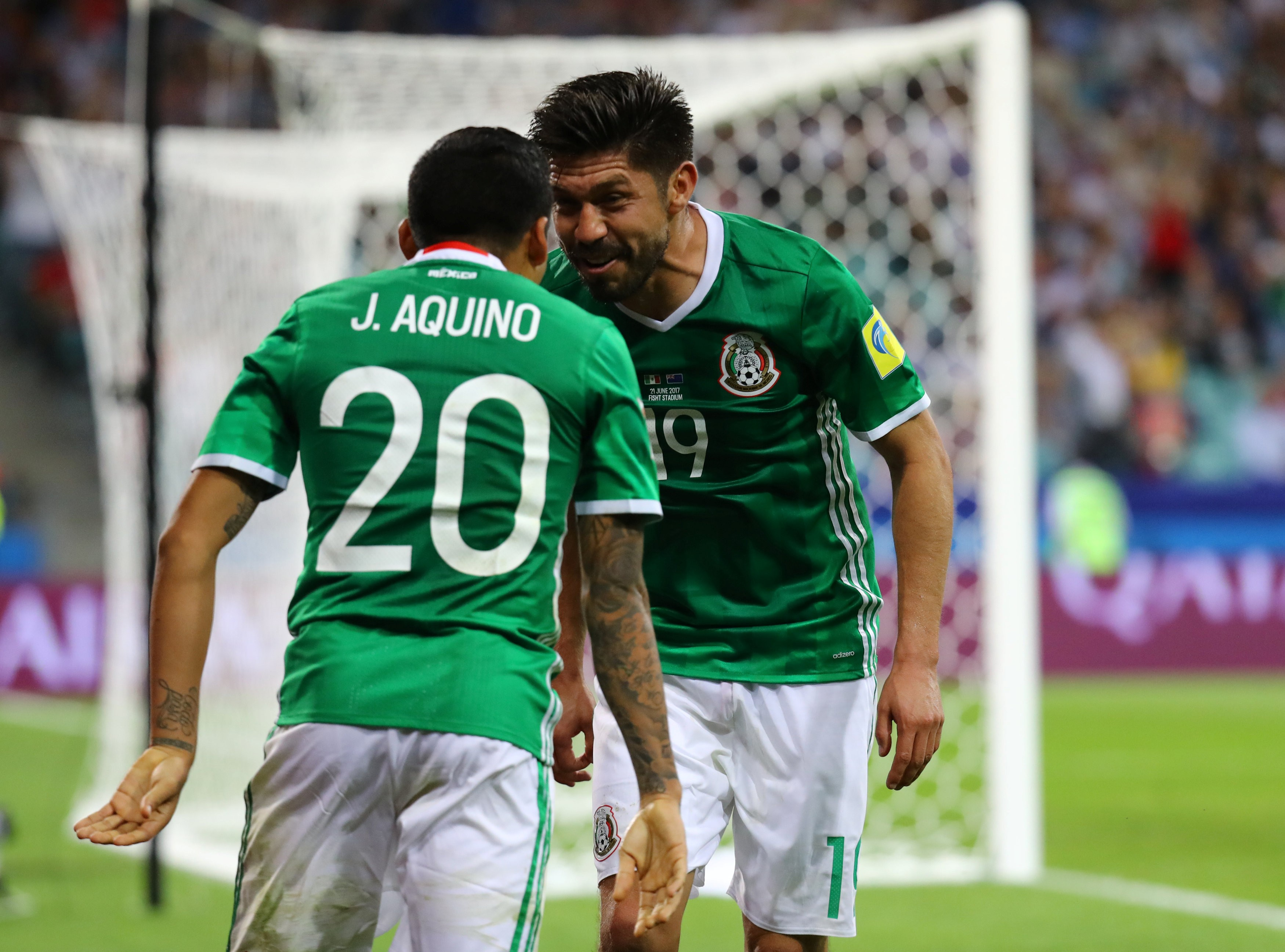 78b8ea344a México X Nova Zelândia - Copa das Confederações 2017