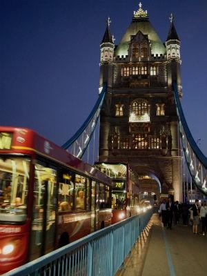 Com pouco mais de um mês de viagem, casal passou por lugares clássicos da Europa, como Londres (Foto: Arquivo Pessoal)