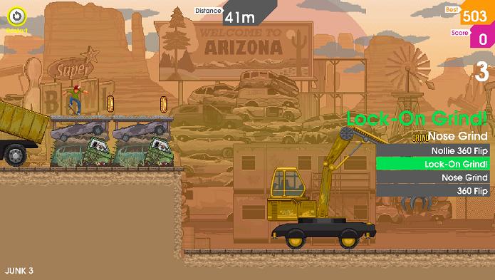 Até mesmo as áridas cidades do Arizona ganham seu próprio cenário (Foto: Divulgação)