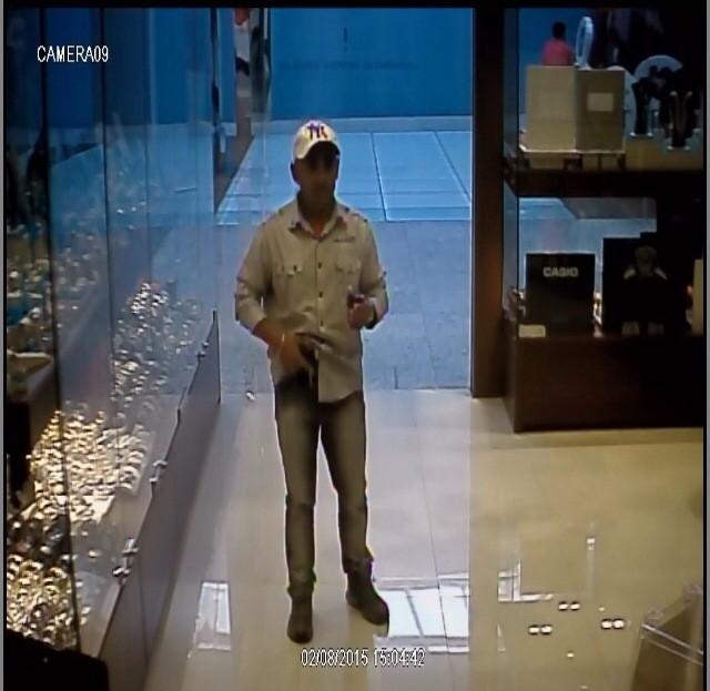PM divulgou imagens das câmeras de segurança (Foto: Polícia Militar/Divulgação)
