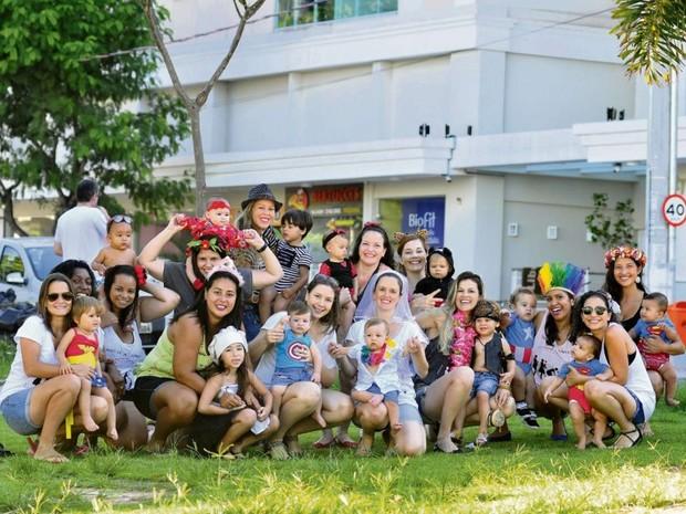 O Bloco Tô Baby vai se reunir domingo, a partir das 15h, em Jardim Camburi  (Foto: Marcelo Prest/ A Gazeta)