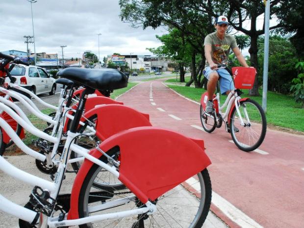 População terá à disposição 240 bicicletas distribuídas em 30 estações (Foto: Zaqueu Proença)