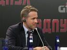 Ryan Reynolds divulga 'Deadpool' em Moscou: 'Filmaria mais dez anos'