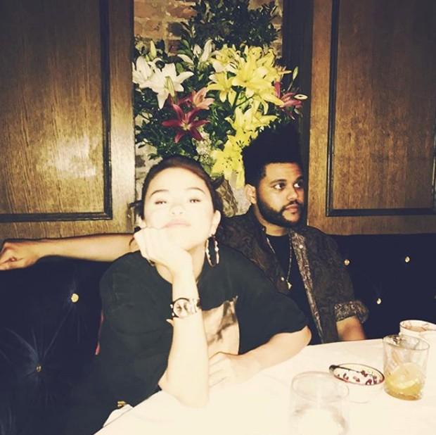 Selena Gomez e The Weeknd (Foto: Reprodução/Instagram)