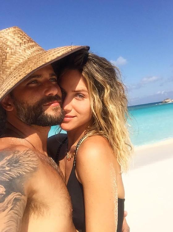 Sempre que pode, Bruno Gagliasso e Giovanna Ewbank fogem para Noronha (Foto: Reprodução Instagram)