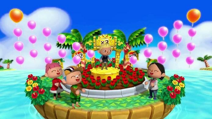 Só os personagens sorriem em Animal Crossing Amiibo Festival (Foto: Divulgação/Nintendo)