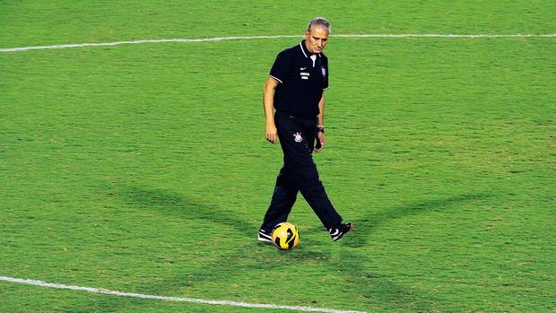 Tite treino do Corinthians em Itu (Foto: Marcos Ribolli / Globoesporte.com)
