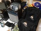 Polícia recupera produtos furtados de escolas públicas por adolescentes