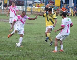 Decisão foi bastante equilibrada e nervosa no sábado (15) (Foto: AABB Rio Branco/Divulgação)