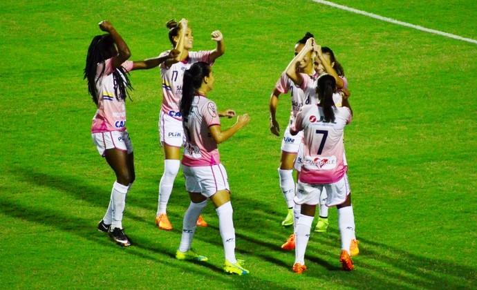 São José futebol feminino (Foto: Danilo Sardinha/GloboEsporte.com)