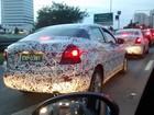 G1 flagra sedã Toyota Yaris R em São José dos Campos, SP