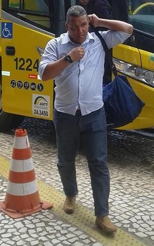 Givanildo Sales prega reação azulina (Foto: Otacílio Leite)
