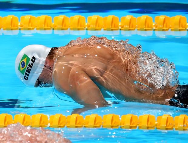 Cesar Cielo nos 50m borboleta no Mundial de Esportes Aquáticos (Foto: Satiro Sodre/SSPress)