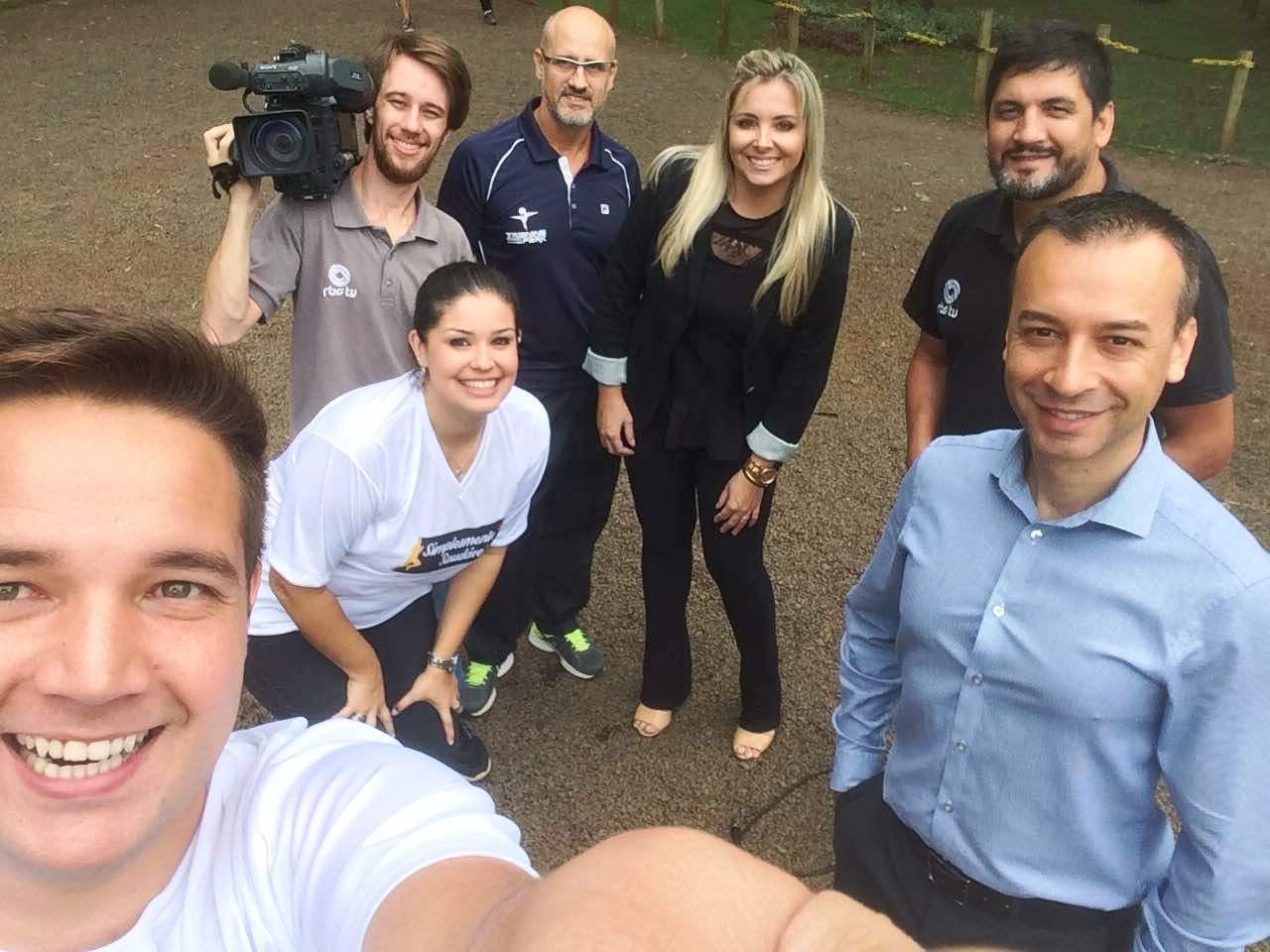 Jornalistas serão acompanhados pela nutricionista Flávia Sell, o educador físico Régis Soares e o cardiologista Cláudio Ferreira. (Foto: RBS TV/Divulgação)