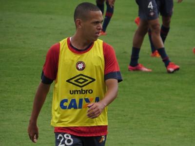 Marcos Guilherme Atlético-PR (Foto: Fernando Freire)