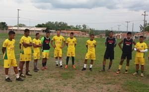 Nova Conquista apresenta elenco para Segunda Divisão 2016  (Foto: Divulgação/ Nova Conquista )