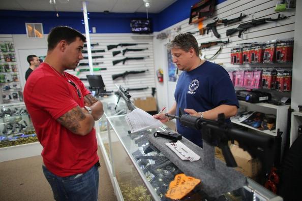 Loja de armas nos Estados Unidos (Foto: Getty Images)