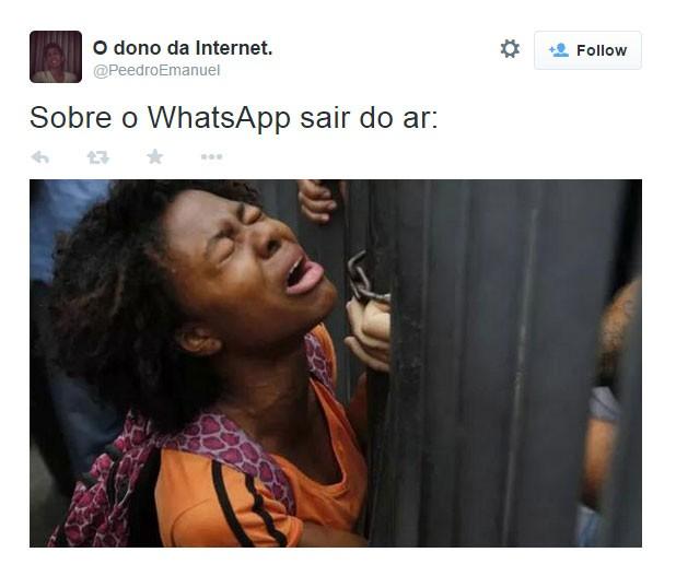 WhatsApp meme12 (Foto: Reprodução/Twitter)