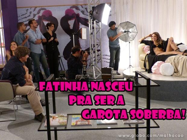 Fatinha GATA como a nova Garota Soberba! É muito diva, né não? (Foto: Malhação / Tv Globo)