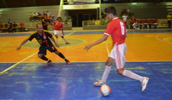 Bayer goleia e quer a classificação na Copa Rede Amazônica de Futsal no AP (Foto: Jonhwene Silva/GE-AP)