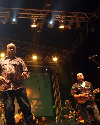 Fundo de Quintal (Foto: Fernando Pilatos/TV Globo)