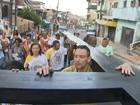 Caminhada em São Caetano lembra 'via sacra' nesta sexta-feira santa; veja