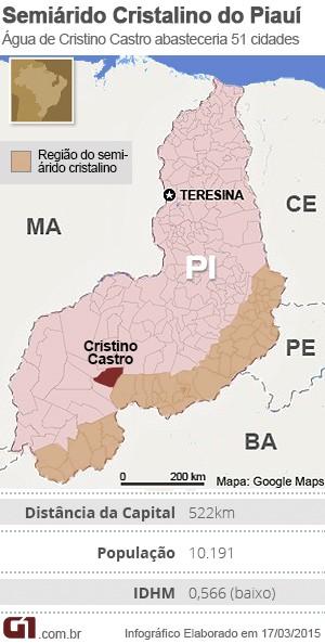 Semiárido Cristalino do Piauí (Foto: Adelmo Paixão/G1)