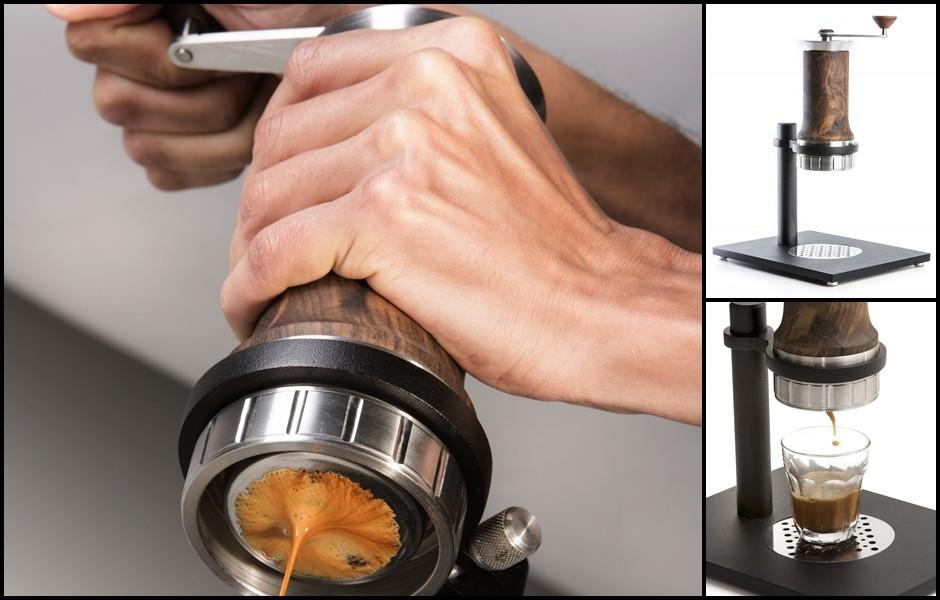 Brasileiro cria máquina de café expresso que não usa energia elétrica