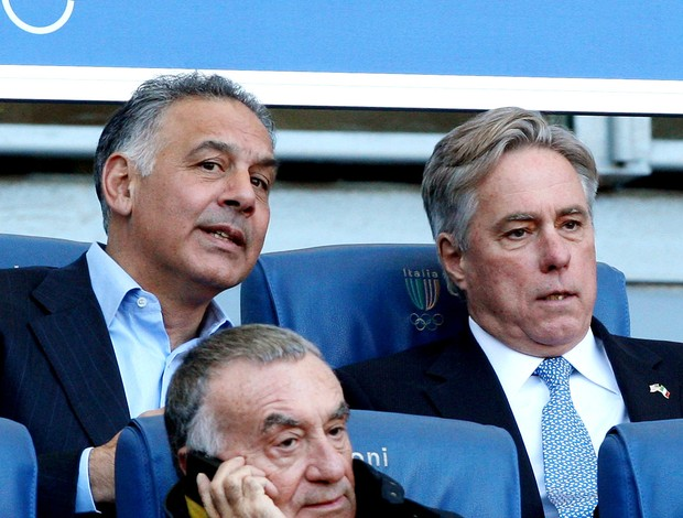 James Pallotta presidente do ROma (Foto: Agência Getty Images)