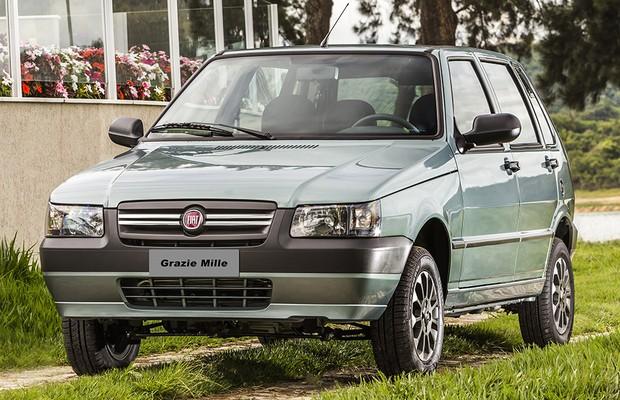 Fiat Mille Grazie (Foto: Divulgação)