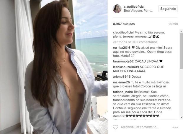 Ex-BBB Cacau (Foto: Reprodução/Instagram)
