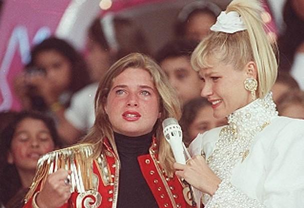 Letícia Spiller e Xuxa (Foto: Reprodução )
