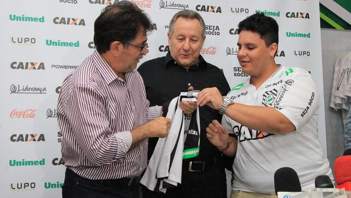 René Simões Figueirense (Foto: Luiz Henrique/Figueirense FC)