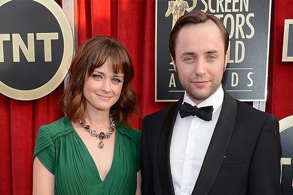 Alexis Bledel e Vincent Karthesier (Foto: Getty Images)