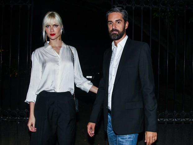 Ana Claudia Michels e o marido em evento em São Paulo (Foto: Manuela Scarpa/ Foto Rio News)