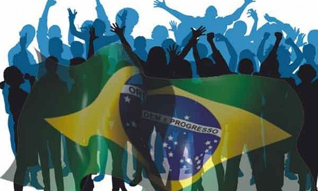 Povo Brasileiro (Foto: Arquivo Google)