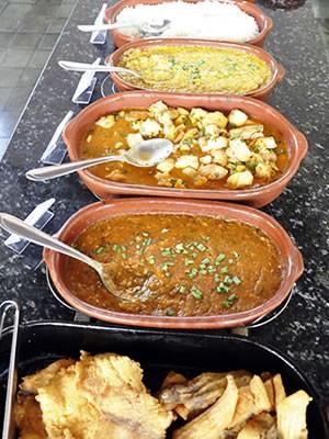 culinária cuiabana (Foto: Denise Soares/G1)