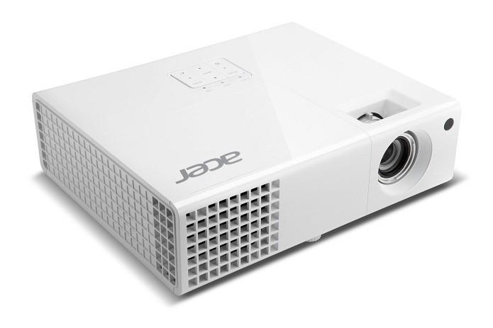Projetor da Acer possui duas entradas HDMI (Foto: Divulgação/Acer)