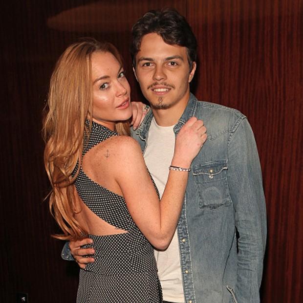 Lindsay Lohan e  Egor Tarabasov (Foto: Getty Images)