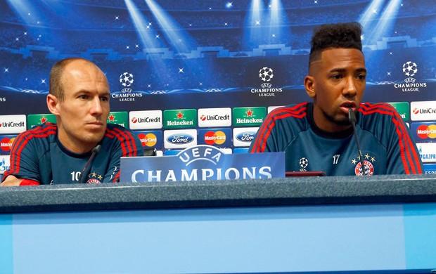 Robben e Boateng Bayern de Munique (Foto: Agência Reuters)