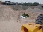 Funcionário morre soterrado em pátio loja de materiais de construção em MT