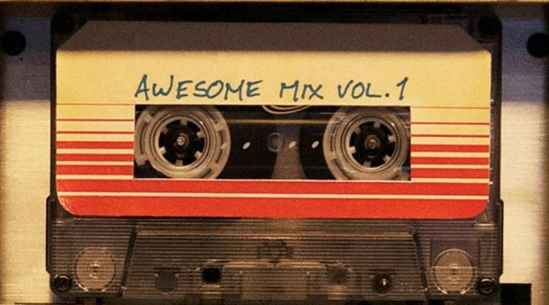 A fita cassete de Peter Quill, que tem feito fãs voltarem a usar o walkman  (Foto: Reprodução/Youtube)