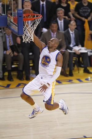 Leandrinho Golden State Warriors x Houston Rockets, nba basquete (Foto: Reuters)