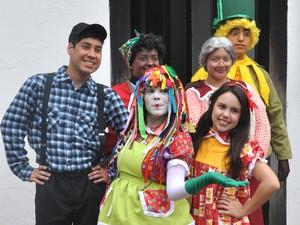 Turma do Sítio do Picapau Amarelo é atração em Taubaté. (Foto: Divulgação/Prefeitura de Taubaté)