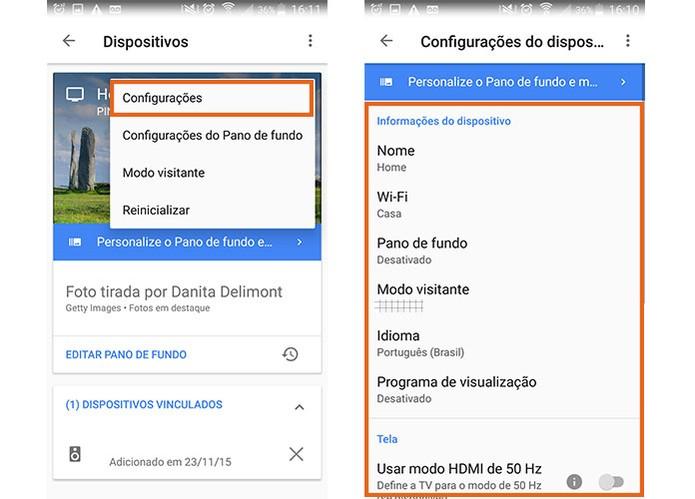 como configurar google home mini con iphone