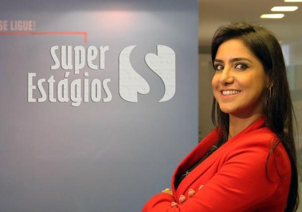Poliana Ferraz, empreendedora por trás da Super Estágios (Foto: Divulgação)