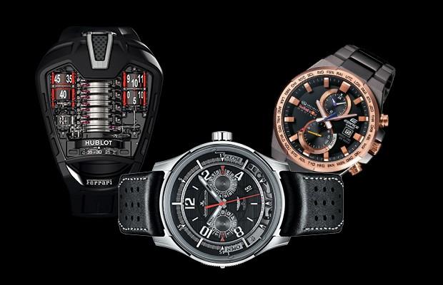 740c5120296 10 relógios ligados ao mundo do carro para dar de presente no Dia ...